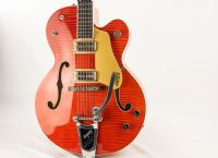 Gretsch G6120SS Brian Setzer Nashville Orange Lacquer Flame Pre Owned